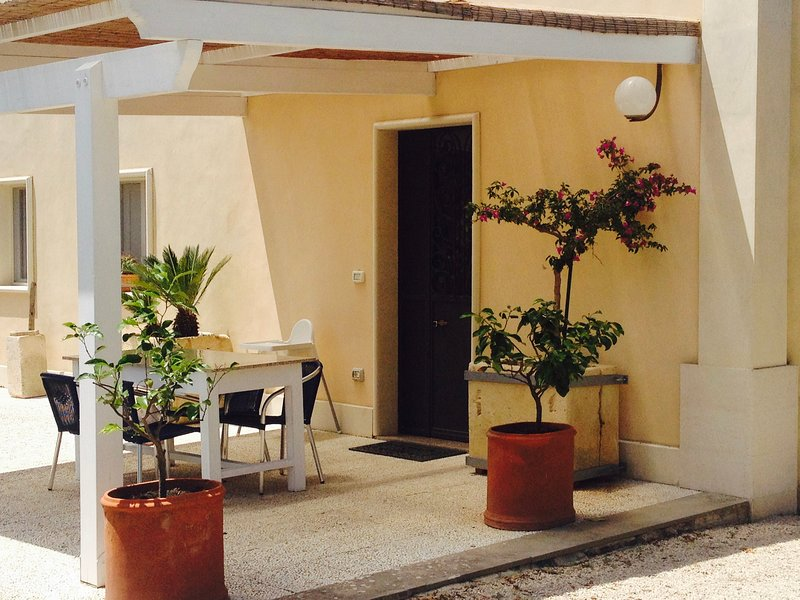 Apartment with shared pool, holiday rental in Galatone