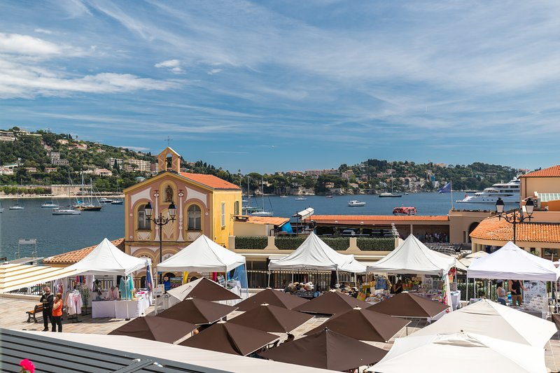Modern Sea view apartment in Villefranche-sur-mer, Ferienwohnung in Villefranche-sur-Mer