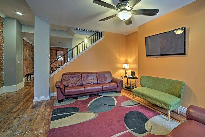 Die 'Steel City' erwartet 12 Gäste in diesem historischen Ferienhaus Haus.