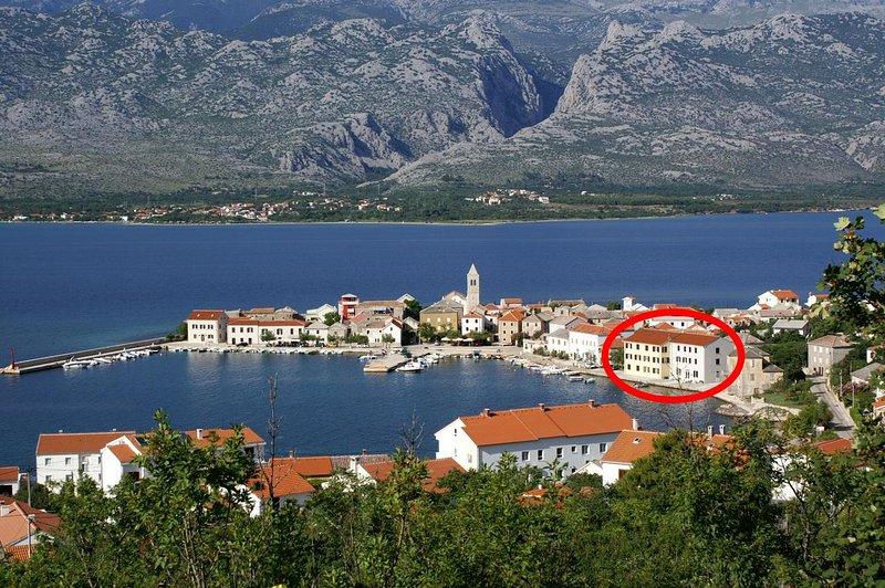 Vinjerac Apartment Sleeps 4 with Air Con - 5461701, holiday rental in Vinjerac