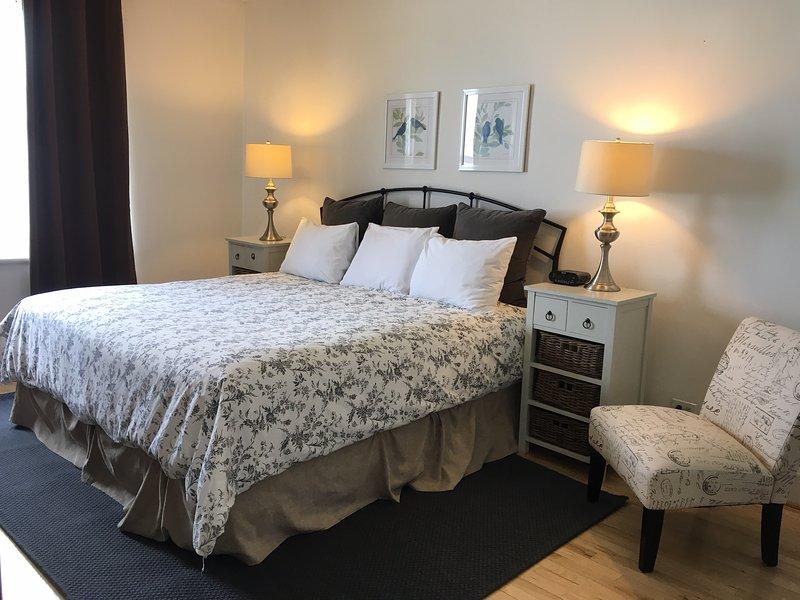 Quarto principal (cama king size)
