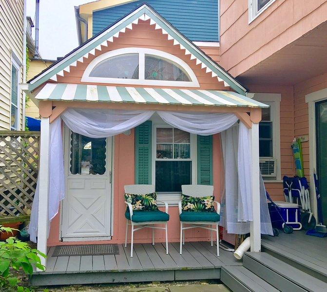 'Cupcake' Guest House, 2 blocks from the beach in Ocean Grove NJ, sleeps 3+, alquiler vacacional en Neptune