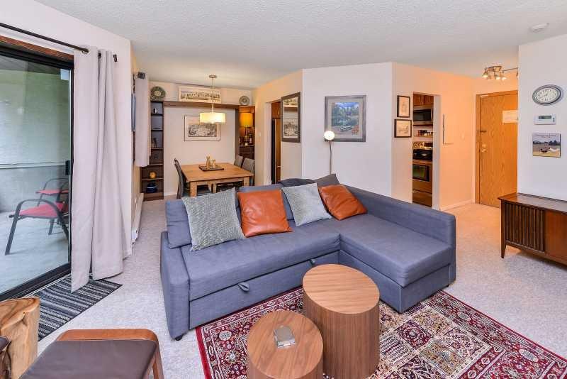 Spacious condo living spaces for you to enjoy.