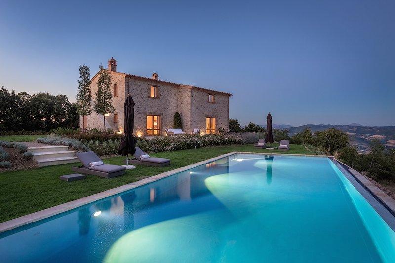 Villa Santa Croce, holiday rental in Colle Umberto I