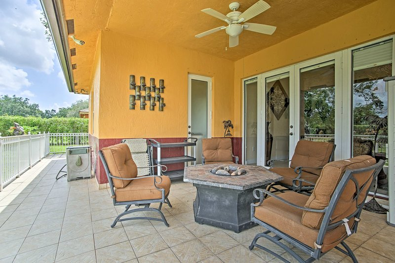 Your Florida getaway begins at this Redland vacation rental house.