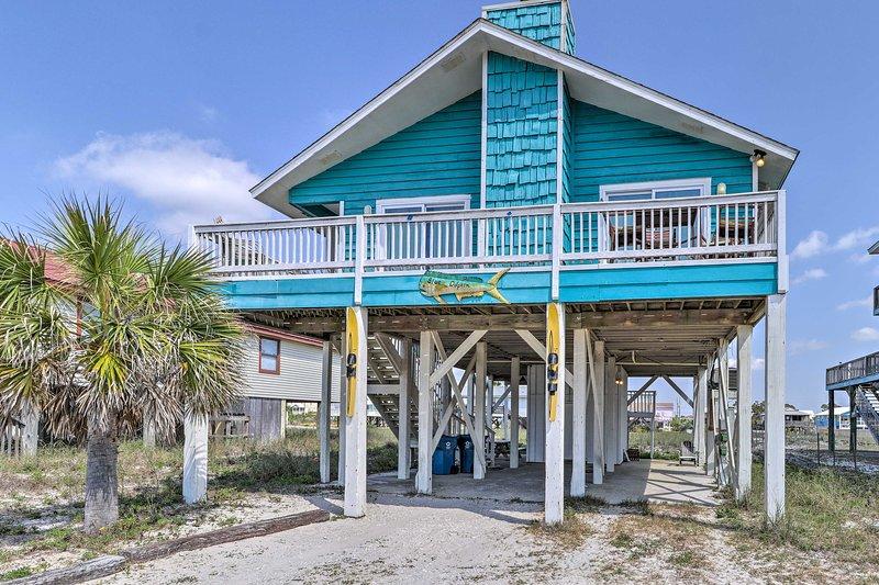 Alle Abenteuer von Gulf Shores erwarten in diesem schönen Ferienhaus mieten.