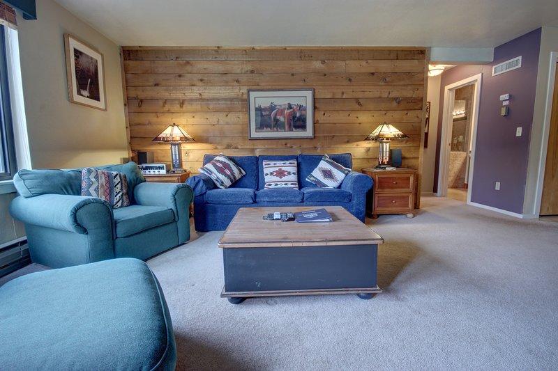 Grand canapé-lit pour vos invités supplémentaires.