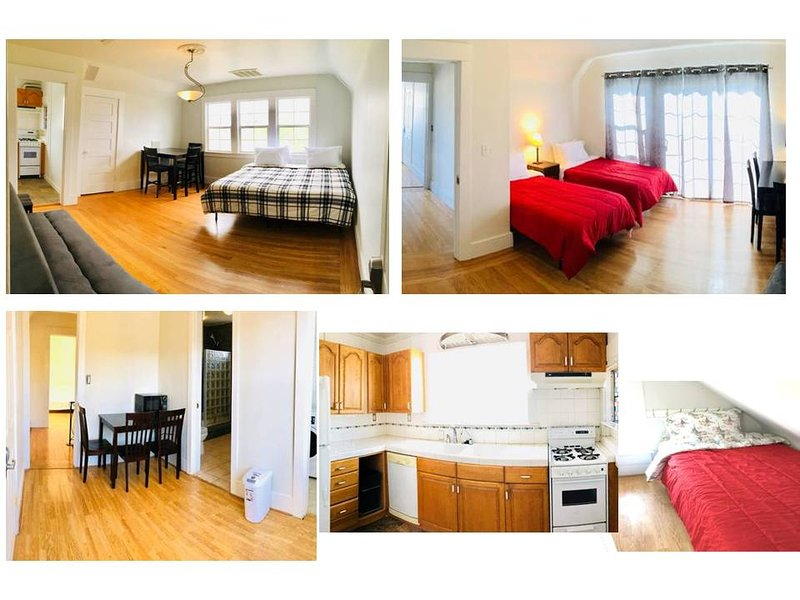 B/3B1B -Whole Unit near SFO, walk to CalTrain/BART, alquiler vacacional en Millbrae