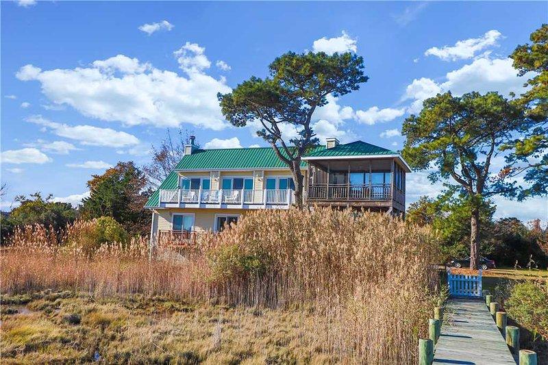 Heron's Cove On Salt Meadow, casa vacanza a Chincoteague Island