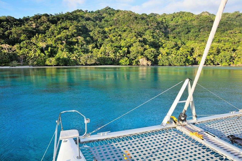 Sail to remote, pristine, private islands