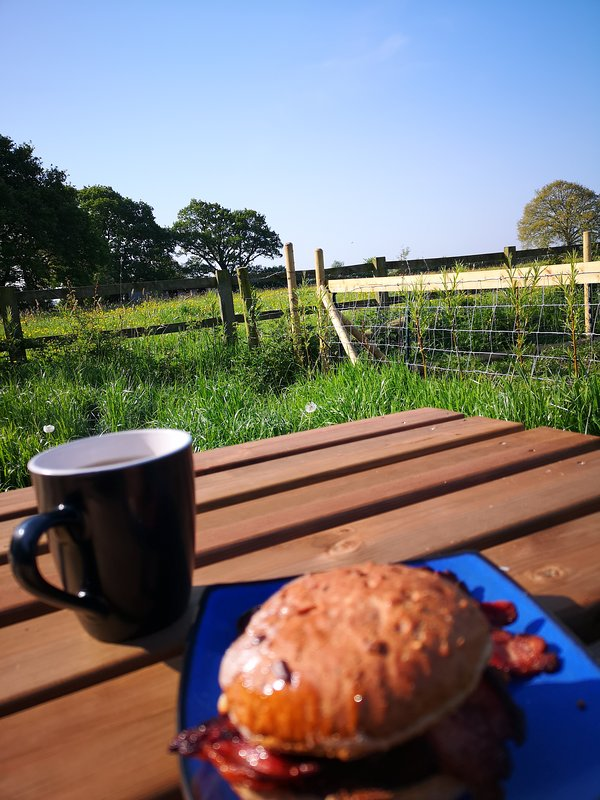 Enjoy you breakfast with the stunning countryside views.