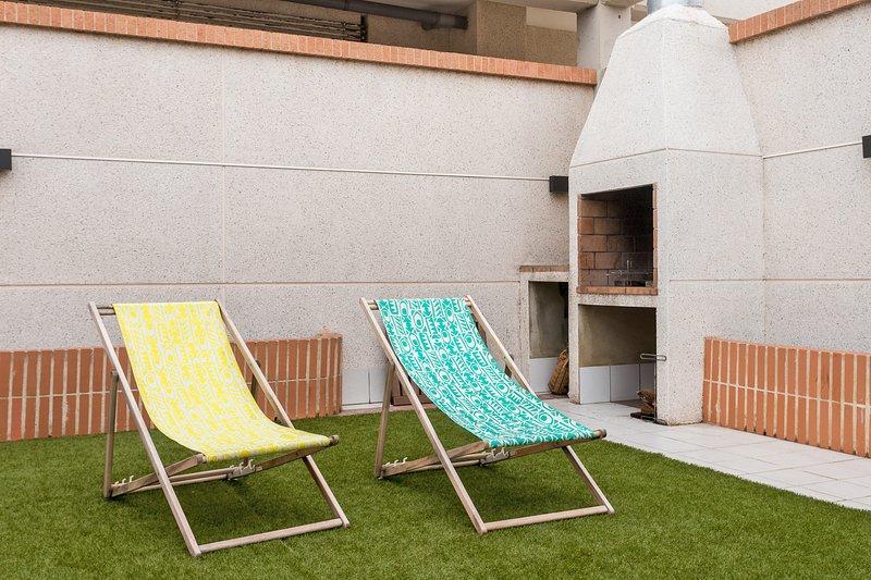 ApartUP Patacona Attic II. Pool + AACC + Parque Infantil, alquiler vacacional en Alboraya