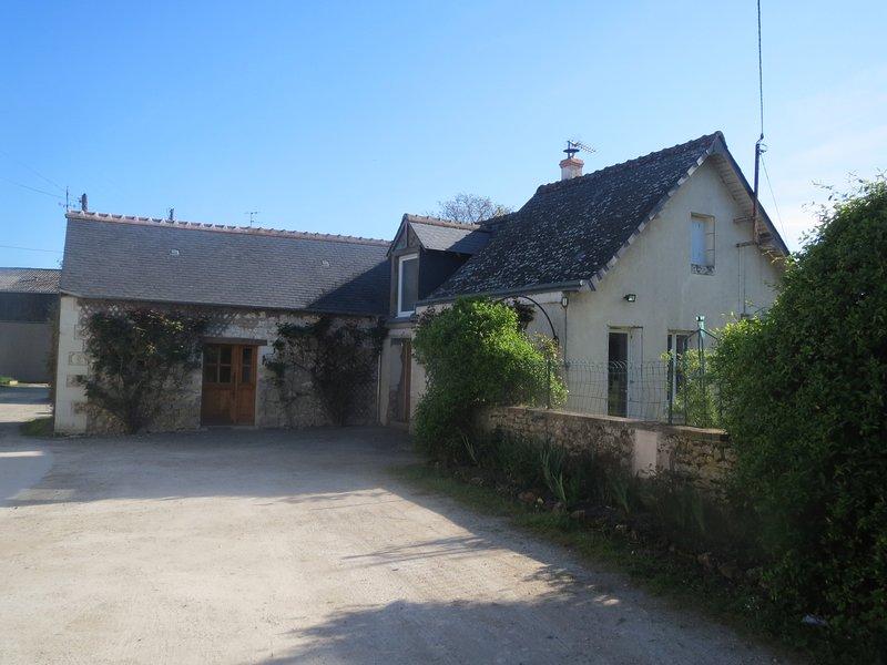 Gîte La Grange Tiphaine, location de vacances à Civray-de-Touraine