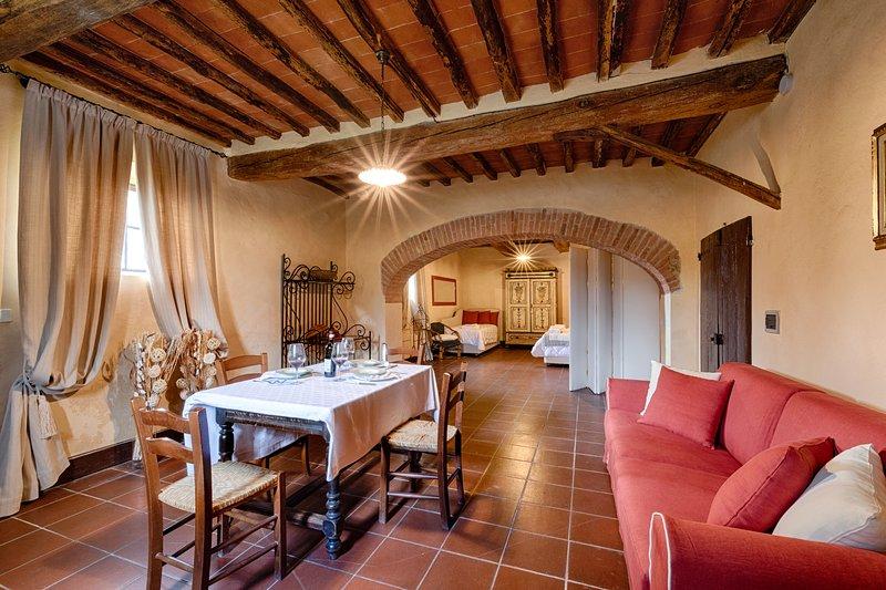 Bellavista (Castello di Bossi) S. Paolo, holiday rental in San Felice
