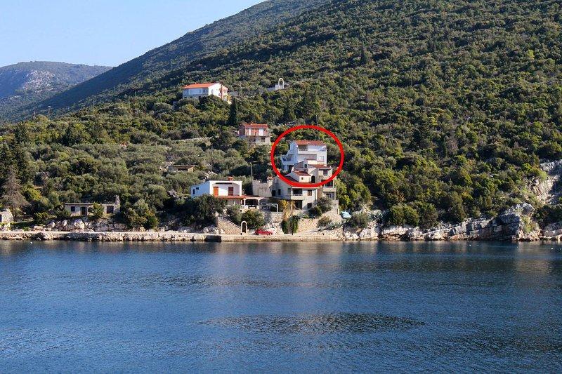 Two bedroom apartment Cove Pokrivenik, Hvar (A-4604-b), vacation rental in Pokrivenik