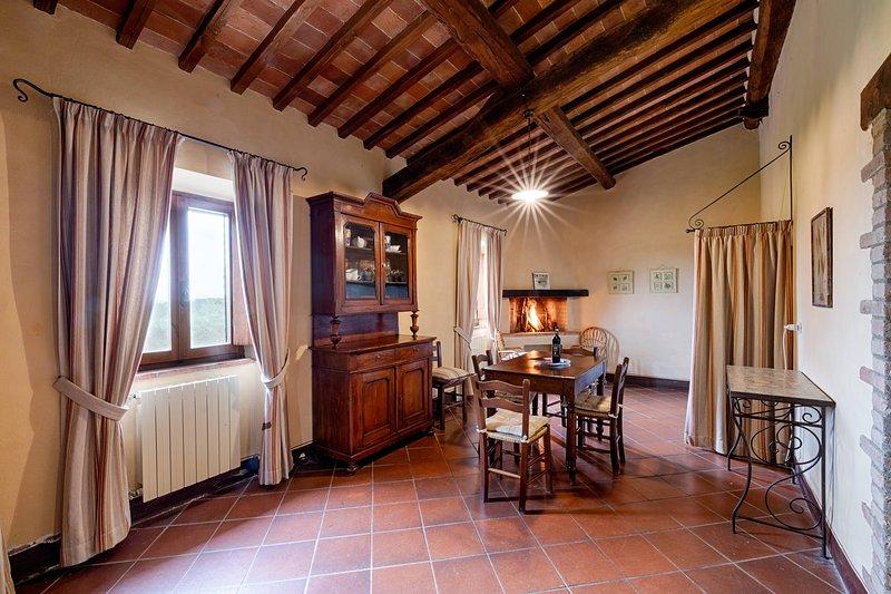 Bellavista (Castello di Bossi) S. Giusto, vacation rental in Castelnuovo Berardenga