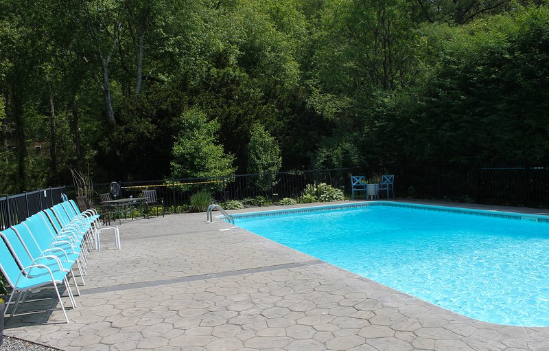 Enjoy your private 40 x 20 salt water pool surrounded by mature gardens!
