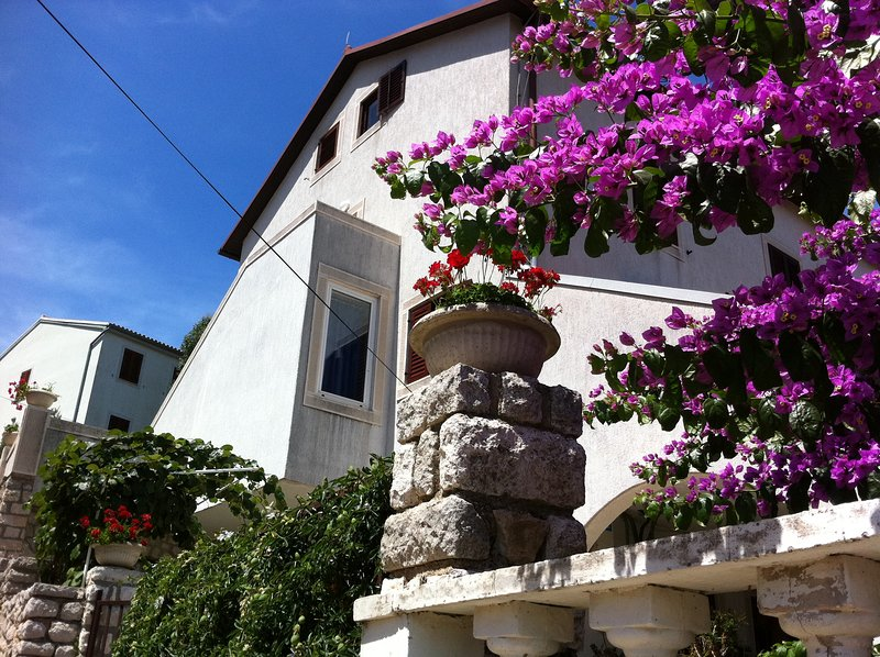 PEPERMINT 1 - apartment for max 3 persons with a view to the Veli Losinj town, vacation rental in Veli Lošinj