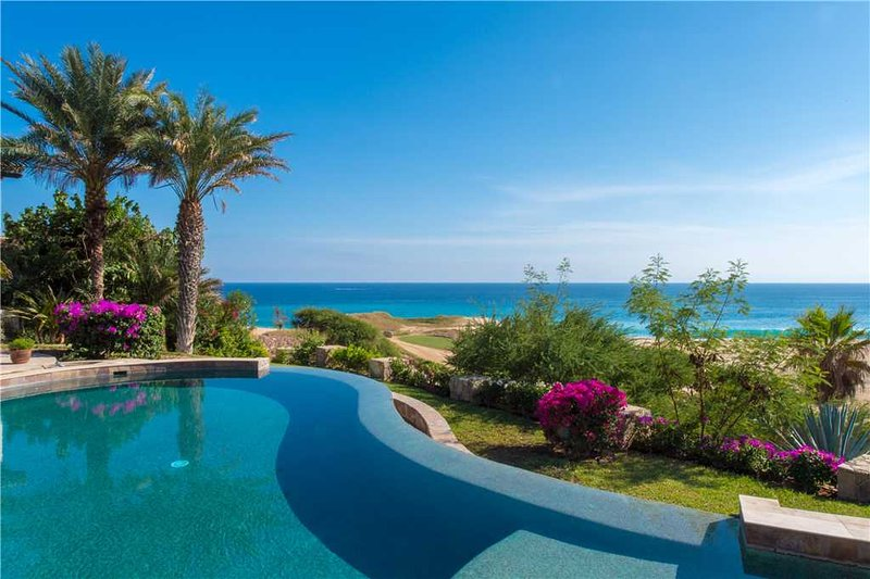 Stunning Oceanfront on Signature Golf Course at Villa Cortez!, holiday rental in Cabo San Lucas