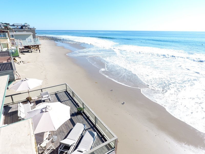Malibu Beach House 70ft Of Sand On