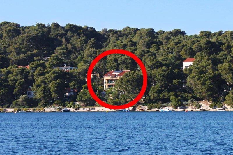 Two bedroom apartment Mali Lošinj, Lošinj (A-5391-a), vacation rental in Veli Lošinj