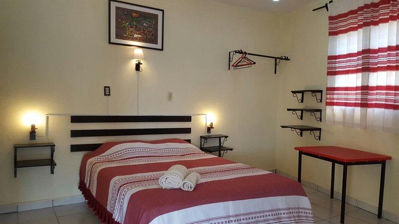 LUMINOSA CASA CON 2 RECAMARAS Y EXCELENTE VISTA., location de vacances à Chiapas