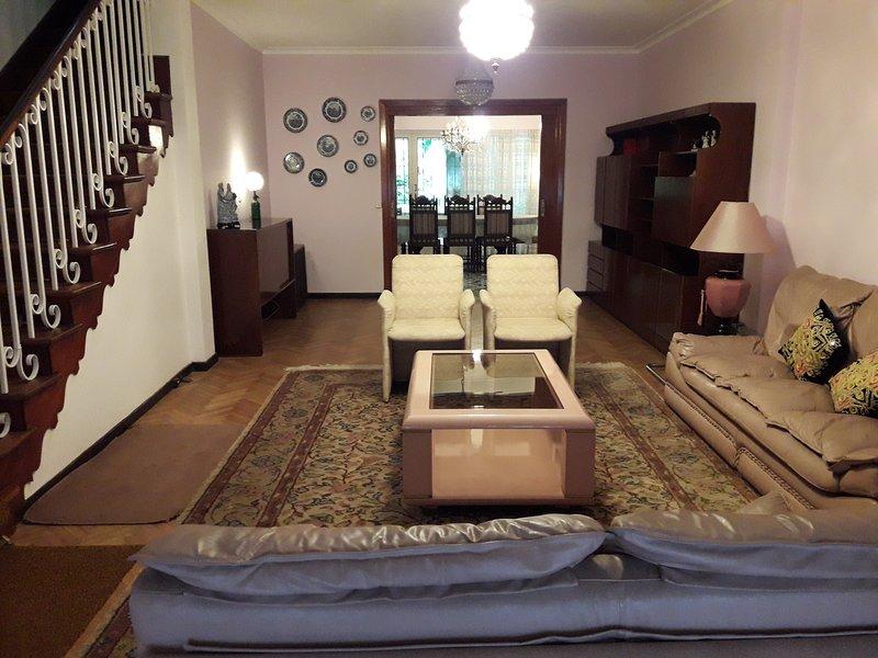 Amplia casa muy comoda con jardin y 3 dormitorios ubicada en la zona Norte Bs As, alquiler de vacaciones en Martinez
