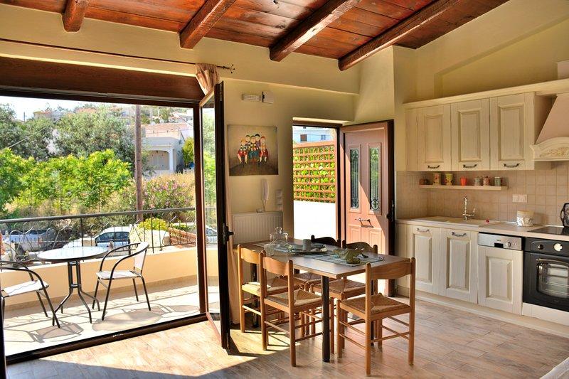 Luxury Suites in Panormo, Arxontariki 2, alquiler vacacional en Roumeli