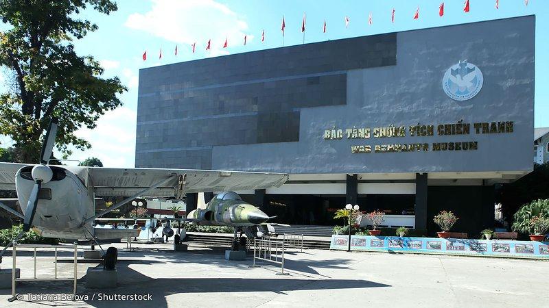 Atração - Guerra Remnats Museum (6 minutos de táxi)