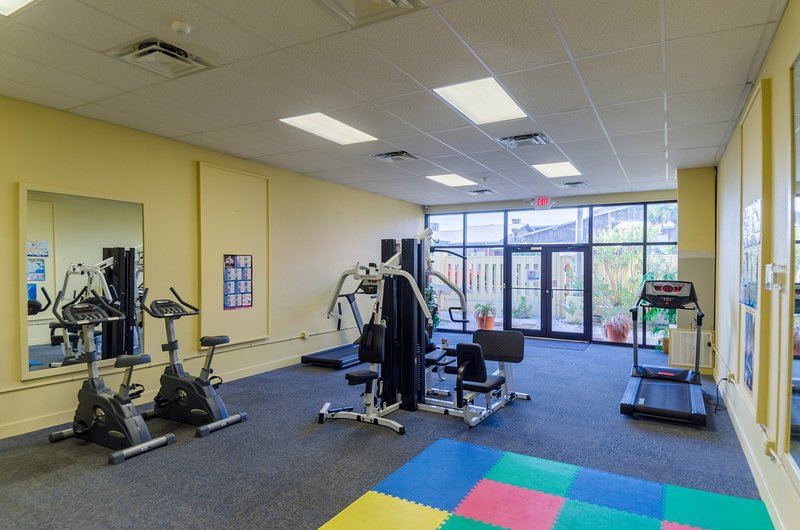 Sunbird's Fitness Center is free for all guests.