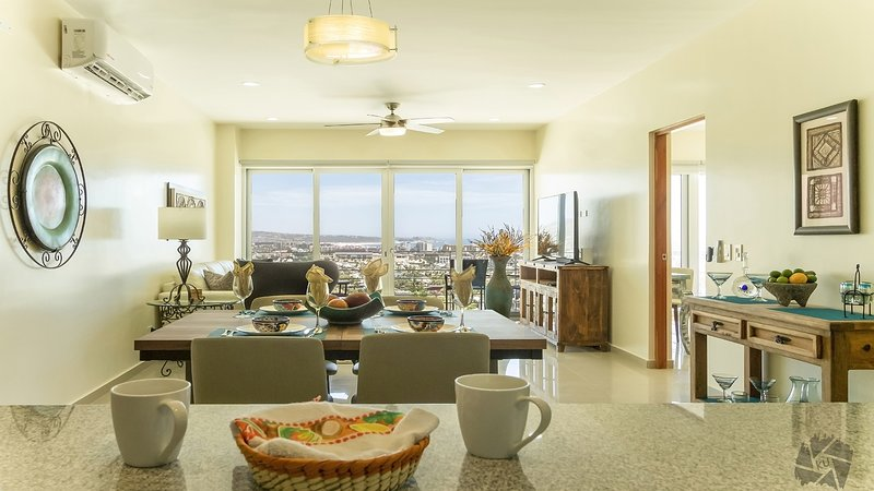 Siempre living area with spectacular view