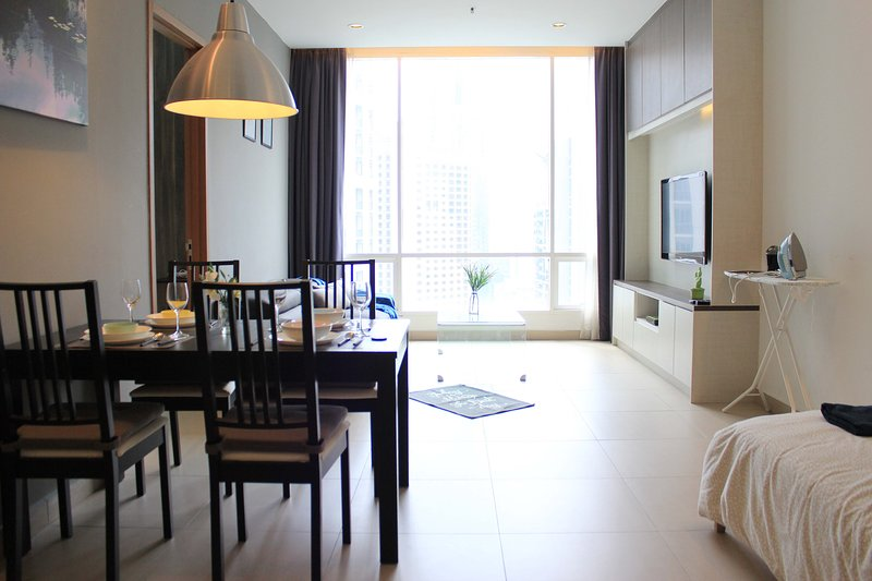 A tastefully furnished 2 bedroom apartment in KLCC