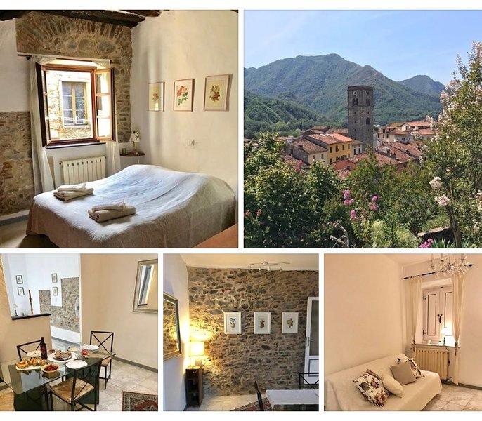 Charmig apartment in the heart of Borgo a Mozzano, holiday rental in Borgo a Mozzano