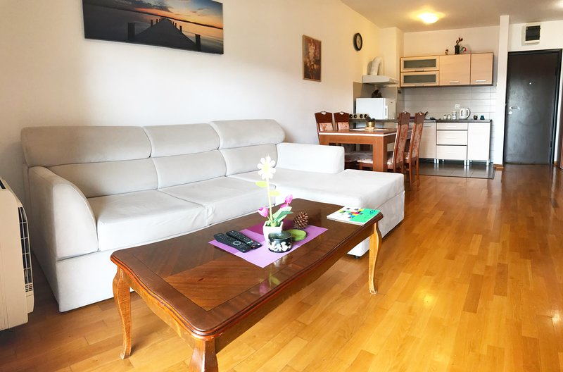 Sweet apartment with beautiful large terrace and amazing sea view., Ferienwohnung in Bar