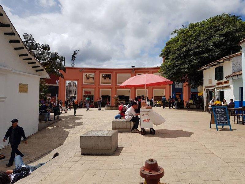 Chorro de Quevedo: Monumento a las primeras 12 casas construidas en la ciudad