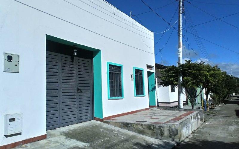 Casa San Miguel Facade, Tello, Huila - Colombia.