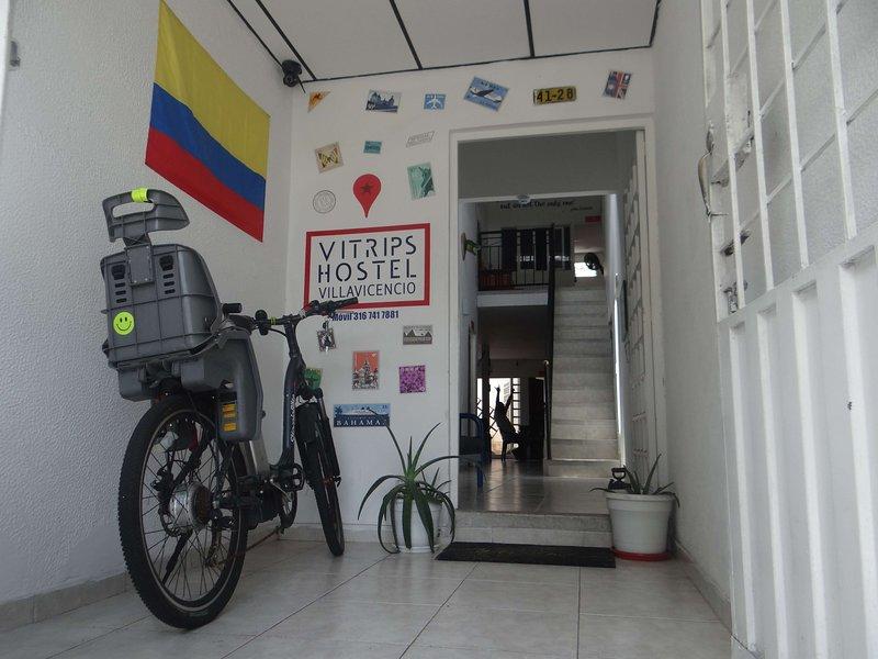 hostel entrance