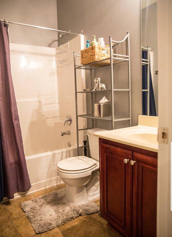 Main Level Full Shower/Tub Bathroom