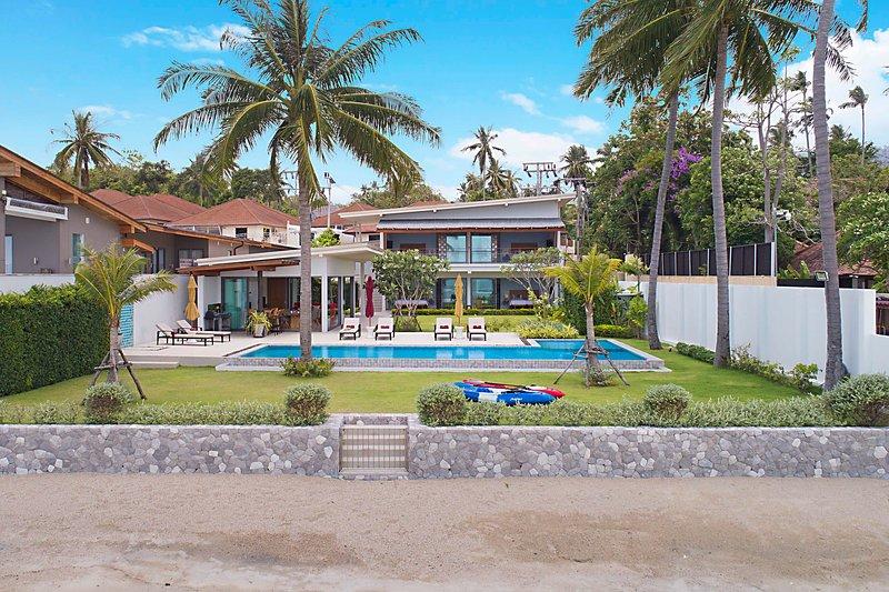 ☀ Beachfront Paradise - Villa SeaNest Samui, vacation rental in Laem Set
