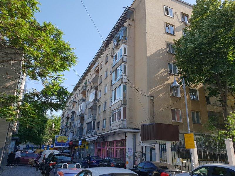 Edificio visto desde la Embajada de Francia