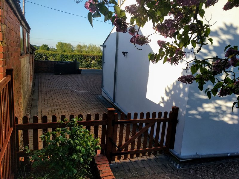 There is onsite parking for one car adjacent to the cottage, and space for more on request.