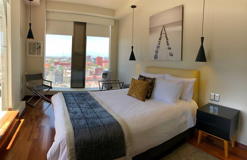 Boutique Apartment (6 guest) Downtown 1417, vacation rental in Mexico City