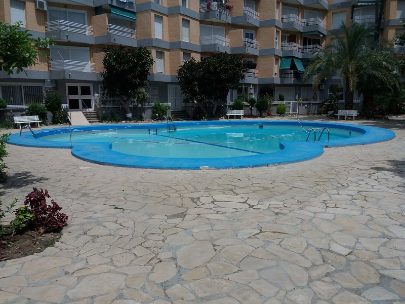 Community area and pool