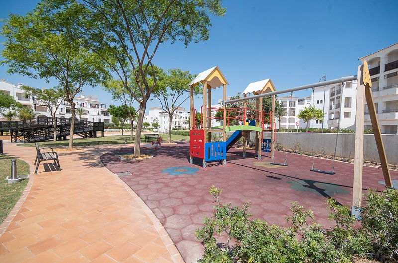 One of many play areas