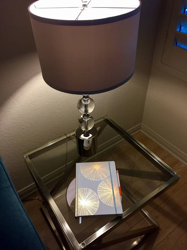 A guestbook so you can tell us about your stay in our home...