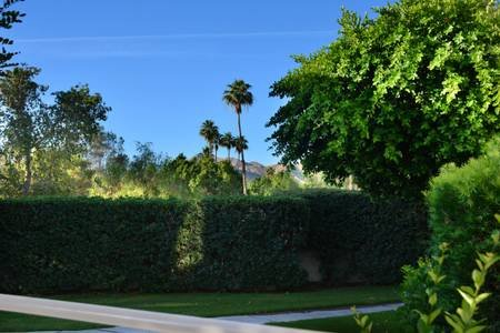 View of the mountains from the patio