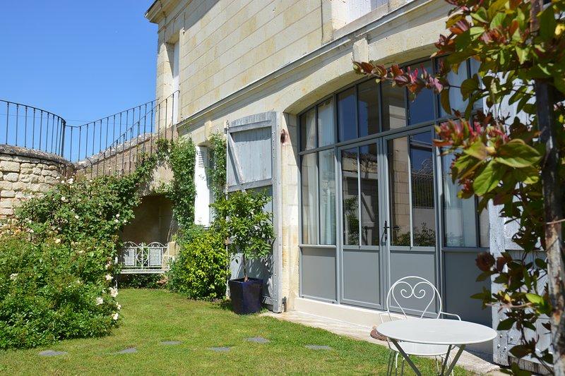Gîte appartement 4**** 'Bonheur de Ronsard', holiday rental in Chinon