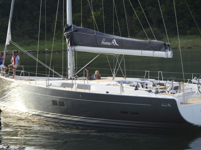 Beautiful luxury yacht