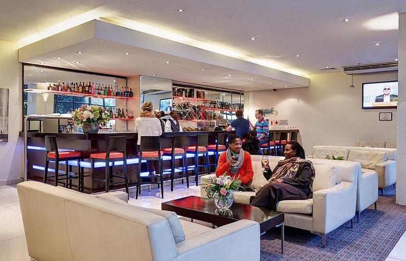 The bar at Fountains Hotel