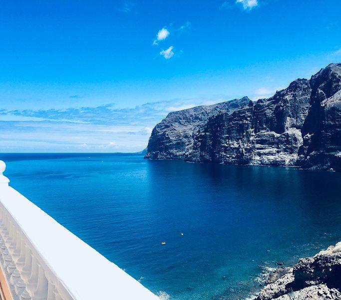 asounding vistas al mar desde la terraza